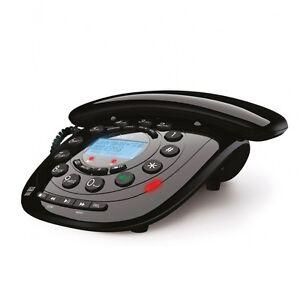 Binatone iDECT Carrera Classic Corded Telephone Lcd Display Answering Machine