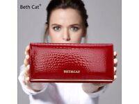 High Quality Leather Bethcat designer purse
