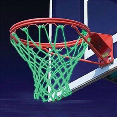 GREENLANS-1 1Pc Braided Nylon Glowing Light Luminous Basketball Net Training Sports Supplies