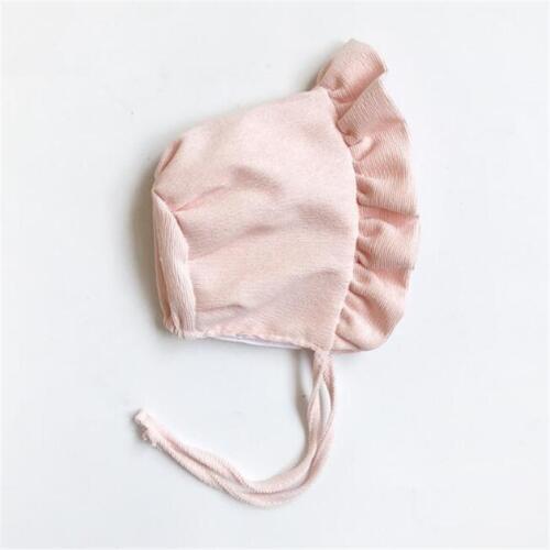 Baby Shower Girls Kids Christening bonnet Lace Beanie Princess Cap Sun Hat DD