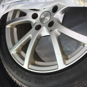 Winter tires 225/50/r18  Toyo Observe garit kx with RIMS