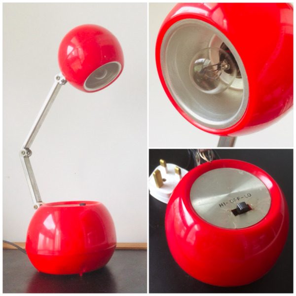 Retro Table Lamp (Non-Working)