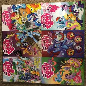 My Little Pony: Friendship is Magic Comics Volume 1-6