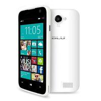 MICROFT BLU WIN W410A JR PHONE UNLOCKED WHITE DUAL SIM