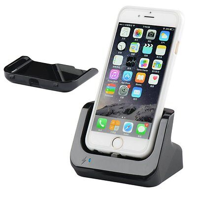 For iPhone XS Max XR XS X 6 7 8 Dock Station Charger Sync Charging Stand Cradle Sync Cradle Dock Station