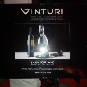 Vinturi Deluxe Wine Aerator Set