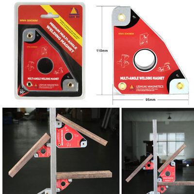 40kg Magnetic Welding Holder Welder Fixture Magnet Clamp Tool 30 45 60 90deg