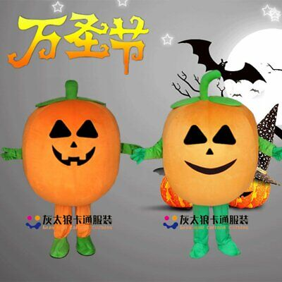 Pumpkin Mascot Costume Suit Cosplay Party Game Dress Adult Dress Halloween Party](Pumpkin Mascot Costume)