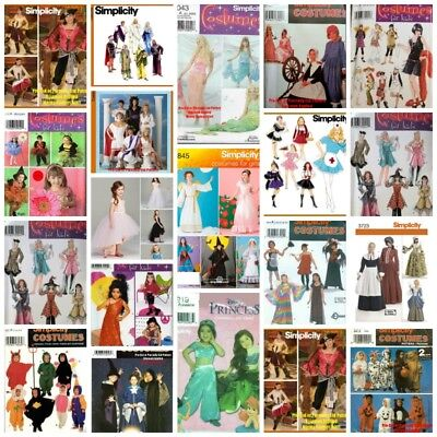 Halloween Costume Patterns Sewing Adults Men Women Teens Kids Babies {Choose} - Halloween Costumes Patterns