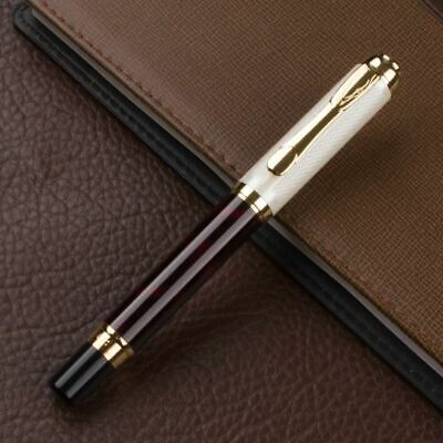 Luxury Roller Ball Pen Stainless 0.7mm Writing Point Business School Office