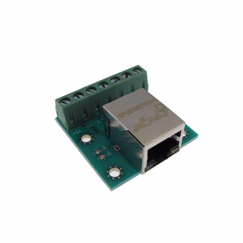 RJ45 Ethernet Connector Breakout Board Module w/ Transformer 13F-60FGYDPNW2NL