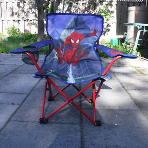 Spiderman folding chair with carry bag