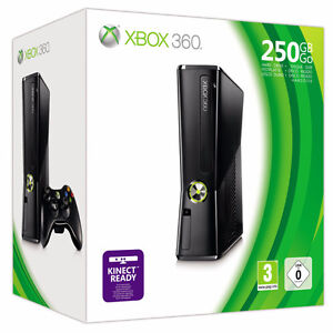 Used Xbox 360 250gb Slim