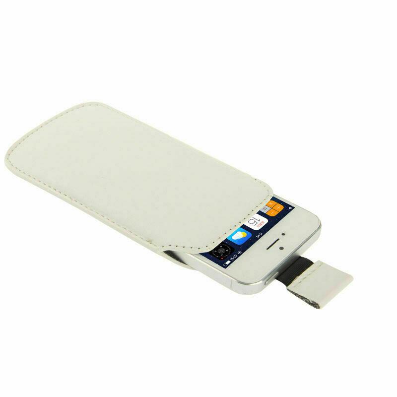 Schutztasche Smartphone Schutzhülle Handy Socke Phone Iphone Samsung Weiss Z40