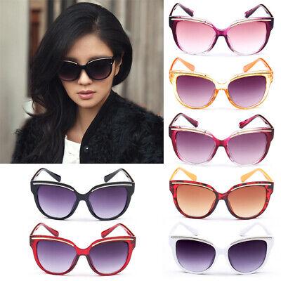 UK Women Eyewear Sunglasses Designer Shades Stylish Cat Eye Round Glasses