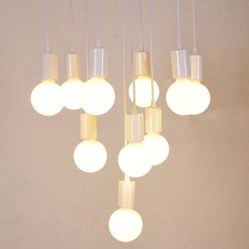 Practical Vintage E27 Edison Lamp Bulb Holder Socket Pendant Ceiling Light Bases