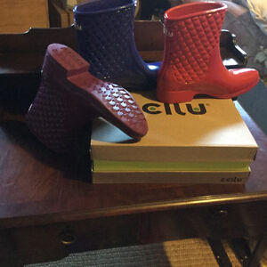 Brand Name Ccilu rain boots Brand New in box!! 10 bucks!!