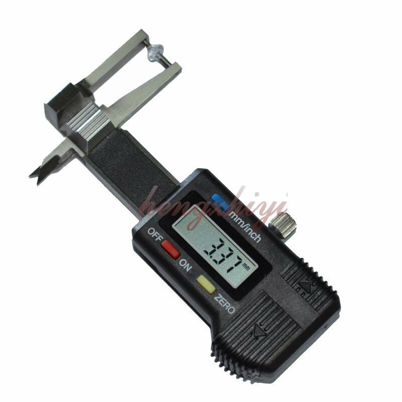 Mini 0-25mm Precision Digital Jewel Gem Thickness Gauge Caliper w 0.01mm Reading