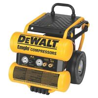 DEWALT Air Compressor - Wheeled Dolly - 4 gal
