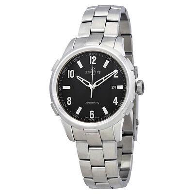 Perrelet Class-T Automatic Black Dial Mens Watch A1068/B