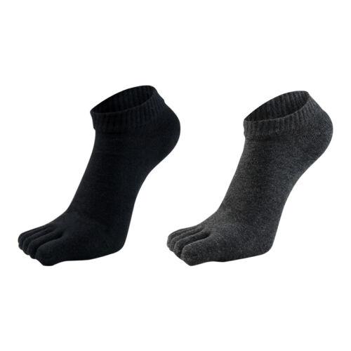 1 Pair Toe Socks Five Finger Athletic Running Socks Crew Cot