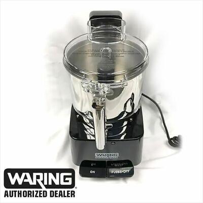 Waring Vcm1000se Commercial Food Processor 220 230v European Plug Stainless Bowl