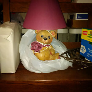 bear lamp- ceramic