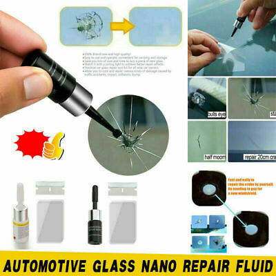 Car Window Glass Crack Chip Resin Windscreen Repair Tool Kit Windshield Part DIY