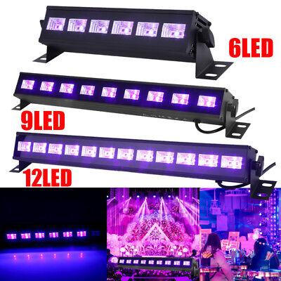 6/9/12LED UV LED Black Light Bar Super Bright DJ Party Club Home Decoration - Black Light Decor