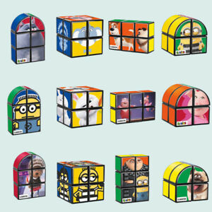 McDonalds Happy Meal Toys Rubik's Cube DESPICABLE ME MINION SING