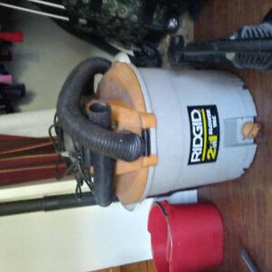 Rigid shop vac and leaf blower