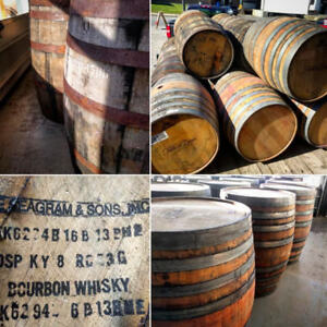 *** WHISKEY AND WINE BARRELS !  ***