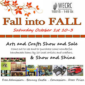 Fall in Fall Arts and Craft Show and Sale
