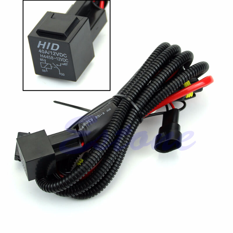 35w Or 55w Hid Relay Harness With Safety Fuse  29 99
