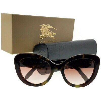 Burberry BE4253-365113-54 Butterfly Women's Havana Frame Brown Lens (Burberry Butterfly Sunglasses)