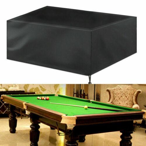 Pool Snooker Billiard Table Cover Waterproof Dustproof Cover Protector Outdoor