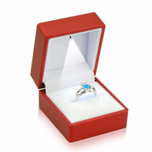 LED ring nd chin boxes for gifts and perposls