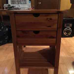 SPPU Wooden side table