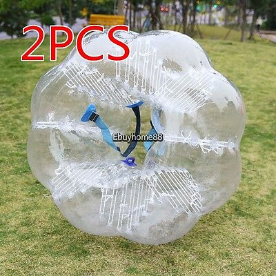 2 X 1 2M Pvc Inflatable Bumper Ball Human Knocker Ball Soccer Football Game New
