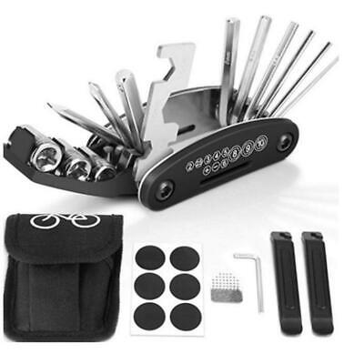 16 in 1 Multi function Bicycle Mountain Bike Repair Tool Pocket Folding Tool (Best Mountain Bike Multi Tool)