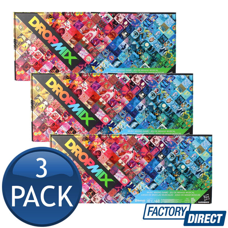 Details About 3 X Dropmix Music Mixing Gaming System Dj Party Playlist Hashbro Play