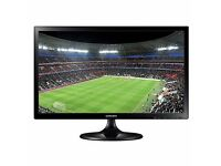 Samsung 27 inch Widescreen LED Full HD 1080p LCD TV and Monitor with Built-in Speakers HDMI