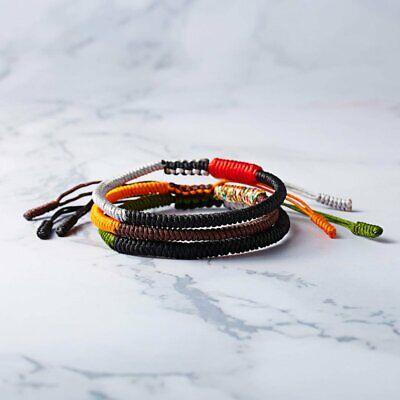 Tibetan Buddhist Lucky Woven Rope Bracelet Bangle Women Men Handmade Wish Gift](Woven Bracelet)