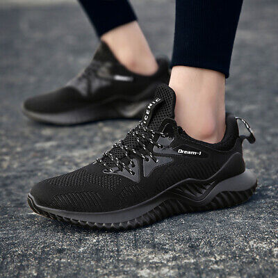 Plus Size Men's Sneakers Breathable Running Shoes Lace Up Casual Tennis Shoes - Lace Up Running Shoes