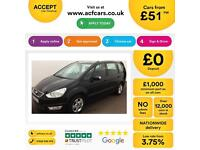 Ford Galaxy 2.0TDCi ( 140ps ) auto 2010.5MY Zetec FROM £51 PER WEEK !