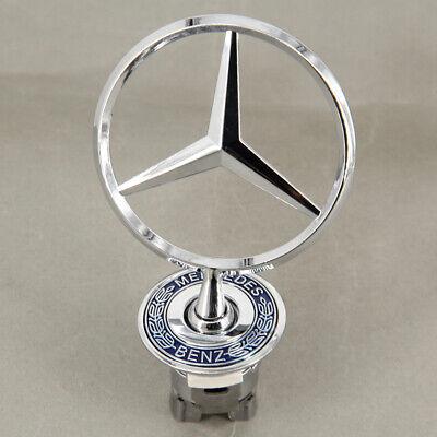 Front Hood Ornament Mounted Star Logo Emblem For Benz US