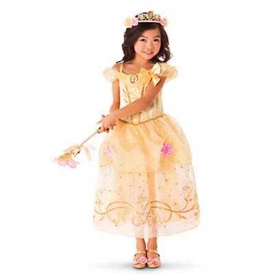 5c76b3b077d2e Détails sur Princesse Belle Filles Robe de Déguisement Rapunzel Cendrillon  Sofia Cosplay