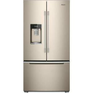 "whirlpool french 4 door refrigerator |Whirlpool WRX986SIHZ 36"" Inch French 3-Door Refrigerator (BD-939)"