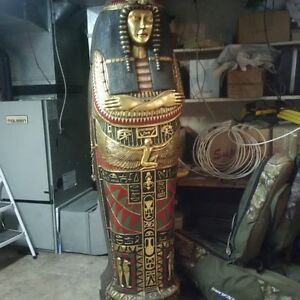 Queen Egyptian Sarcophagus Cabinet
