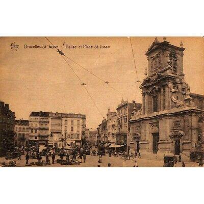 Saint-Josse-ten-Noode - Eglise et Place St-Josse.
